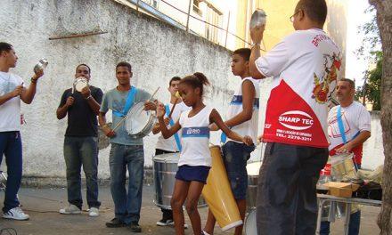 Aula de samba em Benfica
