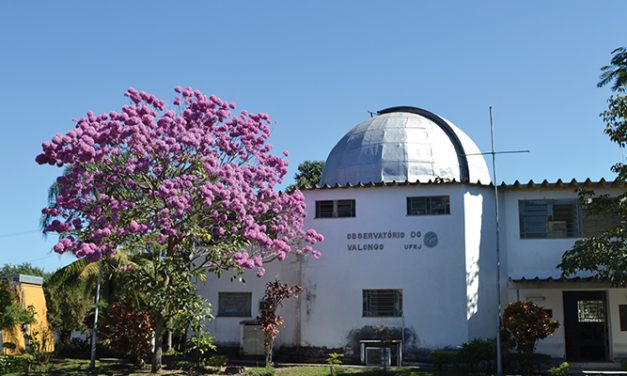 Um observatório bem no meio da cidade