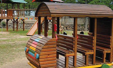 Minicidade no parque do flamengo